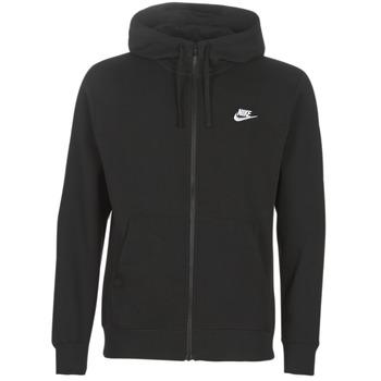 textil Hombre sudaderas Nike M NSW CLUB HOODIE FZ BB Negro