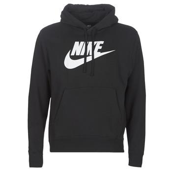 textil Hombre Sudaderas Nike M NSW CLUB HOODIE PO BB GX Negro