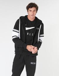 textil Hombre sudaderas Nike M NSW NIKE AIR HOODIE FZ FLC Negro