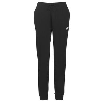 textil Mujer Pantalones de chándal Nike W NSW ESSNTL PANT REG FLC Negro
