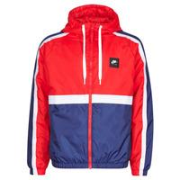 textil Hombre Chaquetas de deporte Nike M NSW NIKE AIR JKT SSNL WVN Rojo / Marino