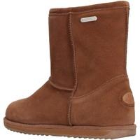 Zapatos Niño Botas de nieve EMU - Stivale marrone camoscio K10773 MARRONE