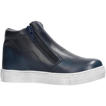 Zapatos Niño Zapatillas altas Melania - Bikers blu ME2632D8I.C BLU