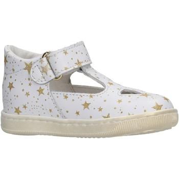 Zapatos Niña Sandalias Falcotto - Occhio di bue bianco/plt KOS BIANCO