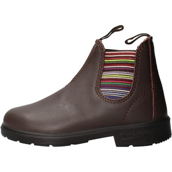Zapatos Niño Botas de caña baja Blundstone - Beatles basso marrone 1413 MARRONE