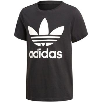 textil Niño camisetas manga corta adidas Originals - T-shirt da Bambino Nero in  CF8545