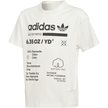 textil Niño camisetas manga corta adidas Originals - T-shirt da Bambino Bianco in  DH3073