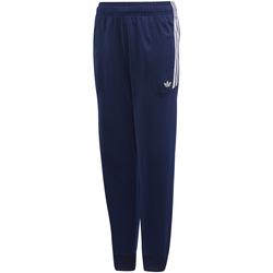 textil Niño Pantalones de chándal adidas Originals - Pantalone blu/bco DW3864