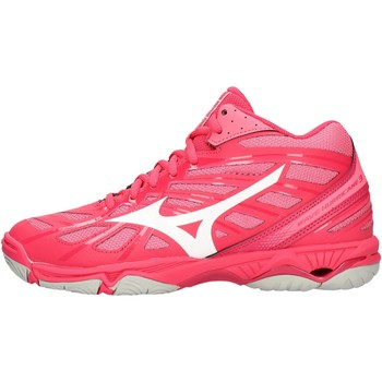 Zapatos Mujer Zapatillas altas Mizuno - Wave hurricane mid wos rosa V1GC1745-61