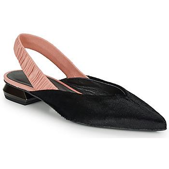 Zapatos Mujer Bailarinas-manoletinas Heimstone SWEDES Negro / Rosa
