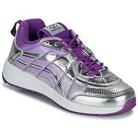 Zapatos Niña Zapatos con ruedas Heelys NITRO Plata / Violeta