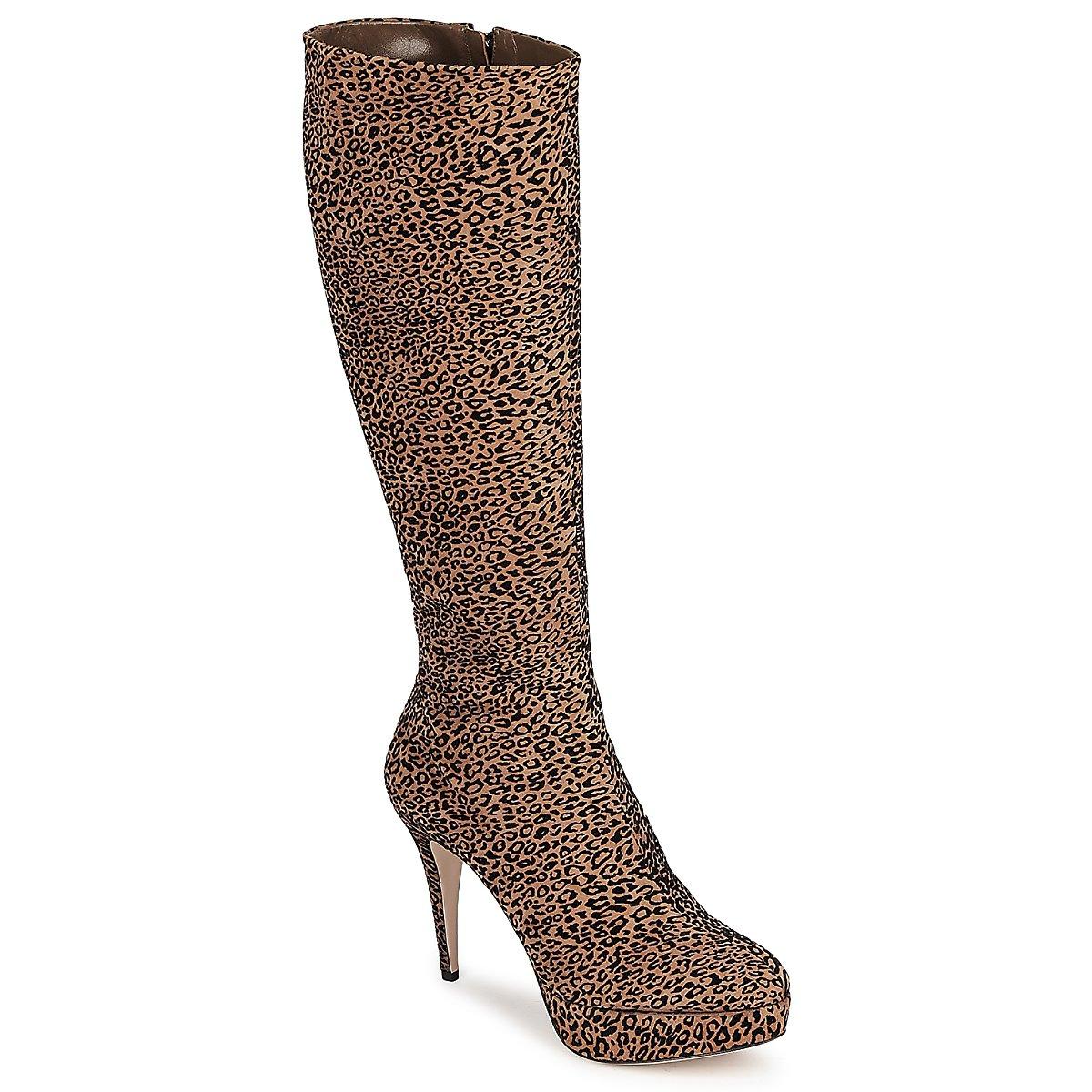 Zapatos Mujer Botas urbanas Sebastian FLOC-LEO Leopardo