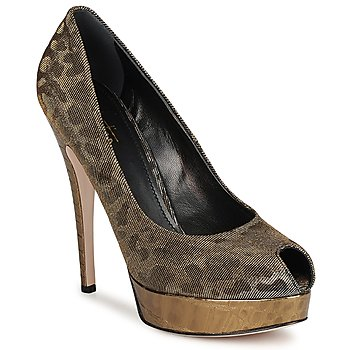 Zapatos Mujer Zapatos de tacón Sebastian TESS Gris / DORADO