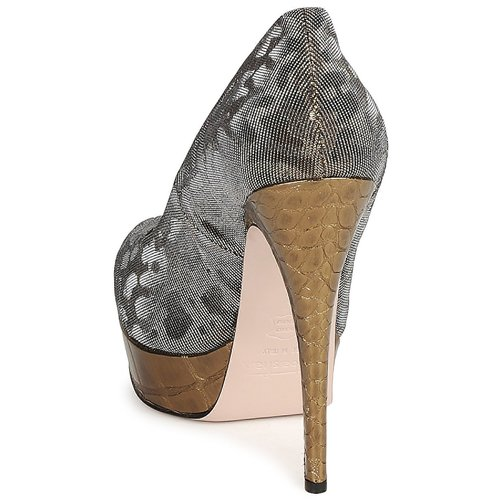 De Tacón Zapatos GrisDorado Tess Sebastian Mujer tsQBrdxhC