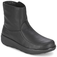Zapatos Mujer Botines FitFlop LOAFF SHORTY ZIP BOOT Negro