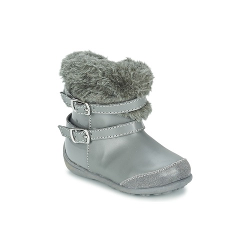 Zapatos Niña Botas urbanas Chicco GELDA Gris
