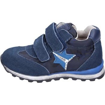 Zapatos Niño Zapatillas bajas Enrico Coveri sneakers textil gamuza azul