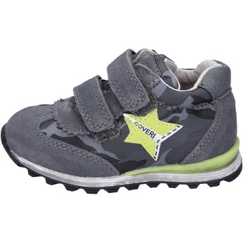 Zapatos Niño Zapatillas bajas Enrico Coveri sneakers gamuza textil gris