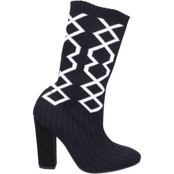 Zapatos Mujer Botas urbanas Nacree botines textil negro