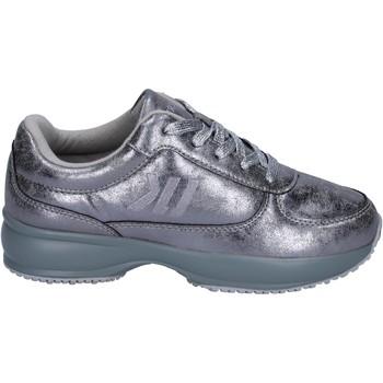 Zapatos Niña Zapatillas bajas Lumberjack sneakers cuero sintético plata