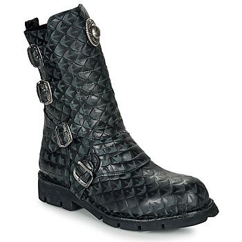 Zapatos Botas de caña baja New Rock  Negro