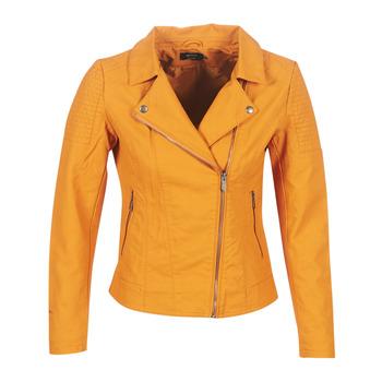 textil Mujer Chaquetas de cuero / Polipiel Only ONLMEGAN Amarillo