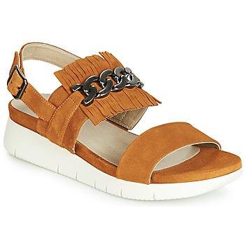 Zapatos Mujer Sandalias Dorking 7863 Marrón