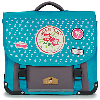 Bolsos Niña Cartable Back To School POL FOX PARADISE ISLAND CARTABLE 38 CM Azul / Gris
