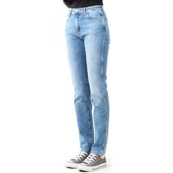 textil Mujer Vaqueros slim Wrangler Boyfriend Best Blue W27M9194O azul