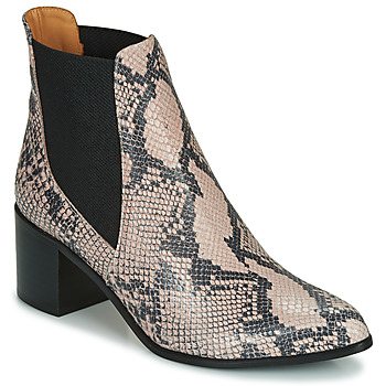 Zapatos Mujer Botines Emma Go GUNNAR Beige
