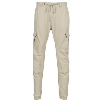 textil Hombre Pantalón cargo Urban Classics CARGO JOGGING PANTS Beige