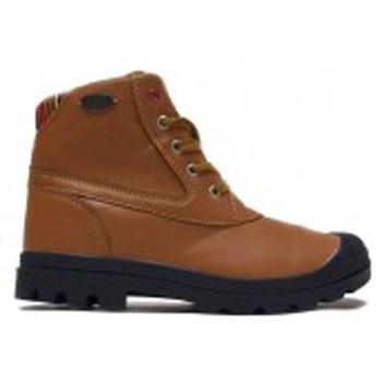 Zapatos Mujer Botas de caña baja Little Marcel Bottines Presto H14IGC010 Camel Marrón