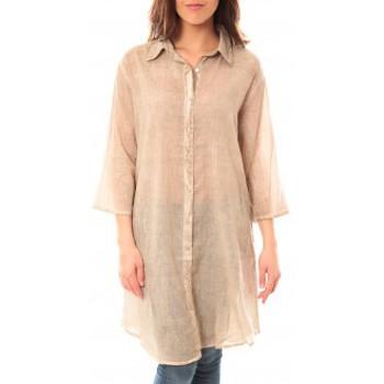 textil Mujer Vestidos cortos Palme Tunique Honolulu 47262 Beige Beige