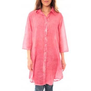 textil Mujer Vestidos cortos Palme Tunique Honolulu 47262 Rose Rosa