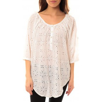textil Mujer Camisas Lara Ethnics Chemisier Maria Blanc Blanco