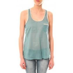 textil Mujer Camisetas sin mangas Lara Ethnics Débardeur Ambre Vert Verde