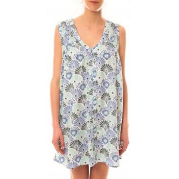 textil Mujer Vestidos cortos Lara Ethnics Robe Maia Bleu Azul
