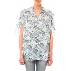 textil Mujer Camisetas manga corta Lara Ethnics Tunique Morgane Vert Verde