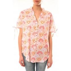 textil Mujer Camisetas manga corta Lara Ethnics Tunique Morgane Rose Rosa