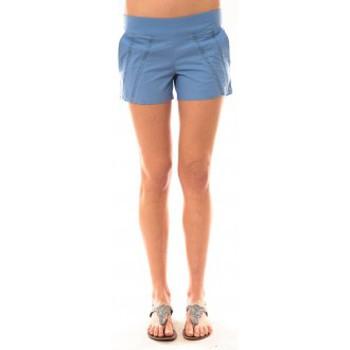 textil Mujer Shorts / Bermudas Lara Ethnics Short Lola Bleu Azul