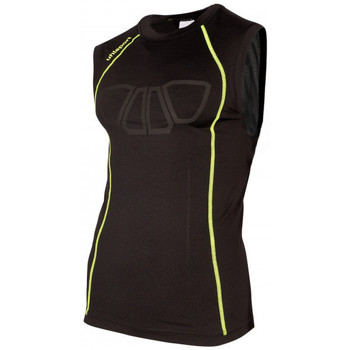 textil Tops y Camisetas Uhlsport Bionikframe Tank Top Black-Fluor yellow