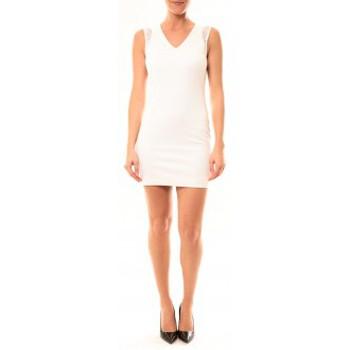 textil Mujer Vestidos cortos Vera & Lucy Robe Enzoria 9252 Blanc Blanco