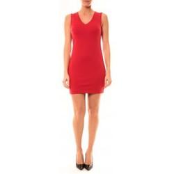 textil Mujer Vestidos cortos Vera & Lucy Robe Enzoria 9252 Rouge Rojo