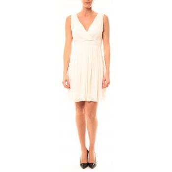 textil Mujer Vestidos cortos Vera & Lucy Robe Enzoria 9291 Beige Beige