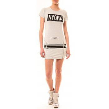textil Mujer Vestidos cortos Vera & Lucy Robe New York MC1575 Gris Gris