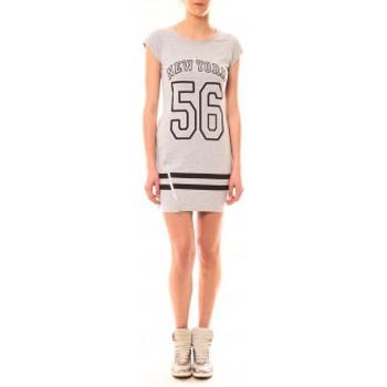 textil Mujer Vestidos cortos Vera & Lucy Robe New York 56 Gris Gris