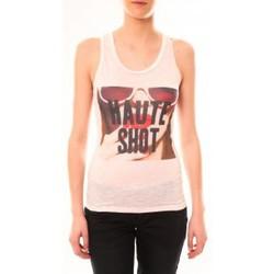 textil Mujer Camisetas sin mangas By La Vitrine Débardeur D2703 Rose Rosa