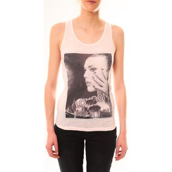 textil Mujer Camisetas sin mangas By La Vitrine Débardeur D2709 Rose Rosa