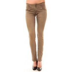 textil Mujer Vaqueros rectos Dress Code Jeans Rremixx RX320 Beige Beige