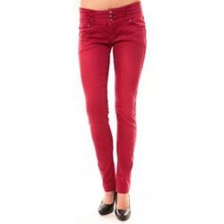 textil Mujer Vaqueros rectos Dress Code Jeans Rremixx RX320 Rouge Rojo